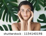 portrait of young and beautiful ... | Shutterstock . vector #1154140198