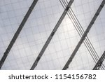 conic roof construction. frame... | Shutterstock . vector #1154156782