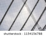 conic roof construction. frame... | Shutterstock . vector #1154156788