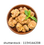 homemade deep fried mushrooms... | Shutterstock . vector #1154166208