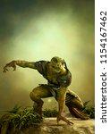 Fantasy Reptilian Warrior...