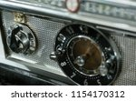 vintage electric stove front... | Shutterstock . vector #1154170312