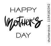 happy mothers day greeting card.... | Shutterstock . vector #1154182342