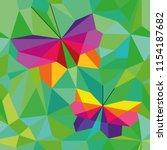 Vector Abstract Polygonal...