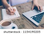 cropped view of business woman...   Shutterstock . vector #1154190205