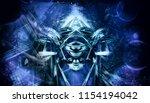 3d rendering of abstract...   Shutterstock . vector #1154194042