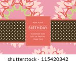 editable template for a... | Shutterstock .eps vector #115420342