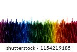 vector rhythmic colorful... | Shutterstock .eps vector #1154219185