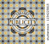 publicity arabic badge.... | Shutterstock .eps vector #1154225815