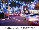 Orchard Road  Singapore. The...