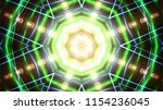 club party stage lights are... | Shutterstock . vector #1154236045