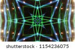 club party stage lights are... | Shutterstock . vector #1154236075