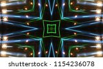 club party stage lights are... | Shutterstock . vector #1154236078