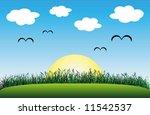 sunny day | Shutterstock .eps vector #11542537