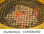 close up of roaster grate for...   Shutterstock . vector #1154282302