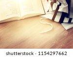 prayer shawl   tallit and... | Shutterstock . vector #1154297662