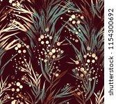 imprints river algae mix repeat ... | Shutterstock . vector #1154300692