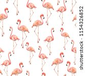 watercolor seamless pattern... | Shutterstock . vector #1154326852