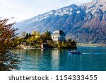 autumn interlaken in... | Shutterstock . vector #1154333455