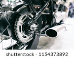 detail of a motorcycle rear... | Shutterstock . vector #1154373892