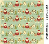 Christmas Vintage Background....