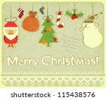 Old Christmas Postcard With...