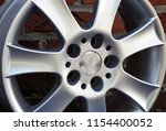second hand alloy wheels in...   Shutterstock . vector #1154400052
