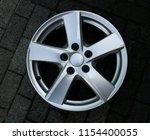 second hand alloy wheels in...   Shutterstock . vector #1154400055