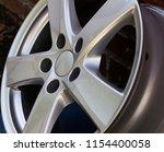 second hand alloy wheels in...   Shutterstock . vector #1154400058