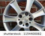 second hand alloy wheels in...   Shutterstock . vector #1154400082