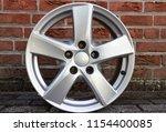 second hand alloy wheels in...   Shutterstock . vector #1154400085