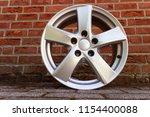 second hand alloy wheels in...   Shutterstock . vector #1154400088
