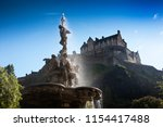 Edinburgh Castle With Sunlight...