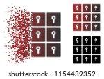 vector lockers icon in...   Shutterstock .eps vector #1154439352