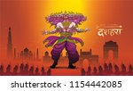 creative vector illustration of ... | Shutterstock .eps vector #1154442085