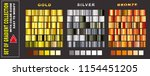 set of gradient collection with ... | Shutterstock .eps vector #1154451205