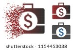 vector business case icon in...   Shutterstock .eps vector #1154453038