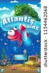 atlantis ruins   vector... | Shutterstock .eps vector #1154462068