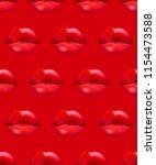 Seamless Pattern Beautiful Lip...
