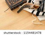 prayer shawl   tallit  prayer... | Shutterstock . vector #1154481478