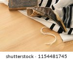 prayer shawl   tallit  prayer... | Shutterstock . vector #1154481745