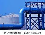 the oil tank | Shutterstock . vector #1154485105