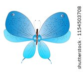 beautiful butterflies  blue... | Shutterstock .eps vector #1154503708