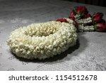 thai jasmine garland to closeup | Shutterstock . vector #1154512678