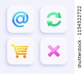 icon set for mobile interface...