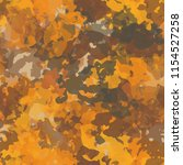 seamless camouflage pattern of... | Shutterstock .eps vector #1154527258