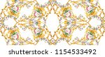 seamless baroque pattern    Shutterstock . vector #1154533492
