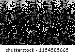 abstract pixel gradient... | Shutterstock .eps vector #1154585665