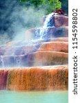 thermal pool  mineral springs... | Shutterstock . vector #1154598802