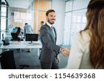 picture of business colleagues... | Shutterstock . vector #1154639368
